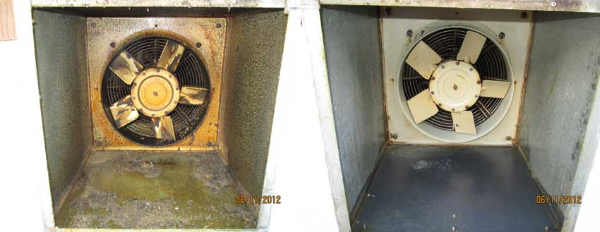 Kitchen Canopy Cleaning And Grease Extraction Air Duct